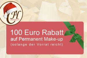 Permanent Make-Up: Weihnachtsaktion 2015